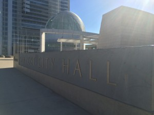 San Jose City Council met on Oct. 7, 2014 and decided not to move Councilman Ash Kalra's recommendation to vote. (Phoebe Barghouty/Peninsula Press)