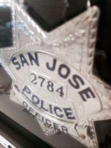 The San Jose Police Department says it has the budget for 1,250 officers, but the current number of sworn-in, deployable officers stands at 894. (Phoebe Barghouty/Peninsula Press)