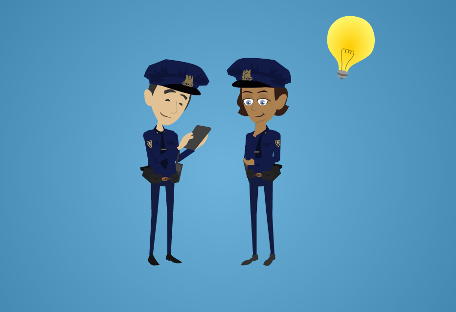 Silicon Valley police remain determined to fight crime using every resource they can, even in the face of new data encryption technology that may lock them out of some smartphone data. (Animation by Katie Straub/Peninsula Press)