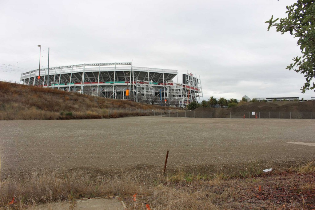 Levi's Stadium in Santa Clara, Calif., pictured earlier this year. (Archive photo: Stephanie L. Wetmore/Peninsula Press)