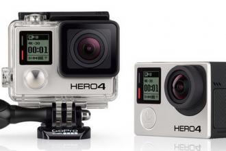 GoPro's HERO4 Black camera. (Screenshot via GoPro website.)