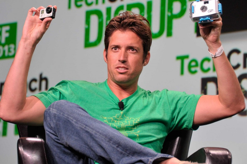 GoPro CEO Nick Woodman. (Photo courtesy of TechCrunch on Flickr via Creative Commons)