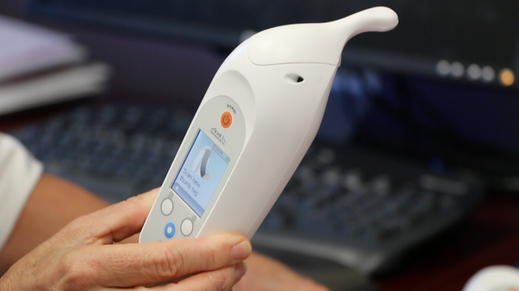 AcelRx's key product is  Zalviso, a patient-activated, non-invasive analgesic system which delivers pain a 15-microgram dose of pain medication sufentanil, allowing for the management of moderate-to-severe acute pain in adult patients in the hospital setting.