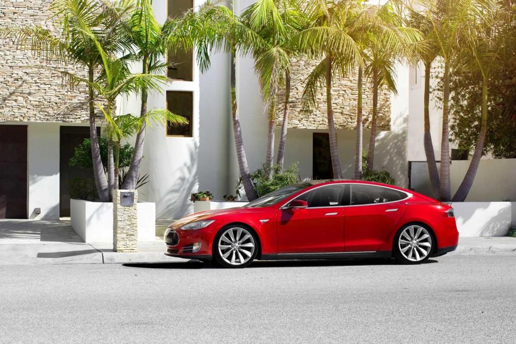Tesla's Model S. (Photo courtesy of Tesla Motors)