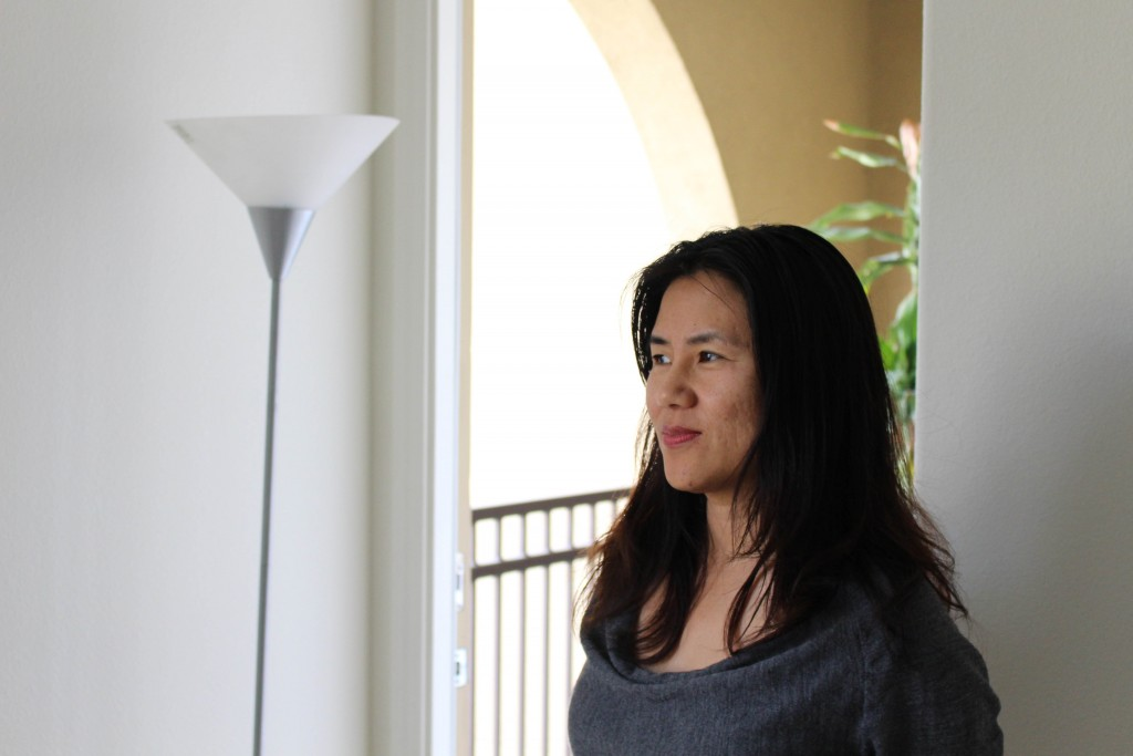 Santa Clara resident Sherry He rents out a bedroom in her home on Airbnb. She's unsure of whether she will adjust her $98 nightly rate to make up for taxes. (Shane Newell/Peninsula Press)