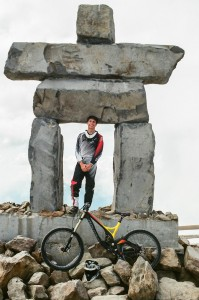 Ben Suliteanu enjoys Whistler's mountain bike park in 2013, one of the best in the world. (Tyler McIntosh/Peninsula Press)