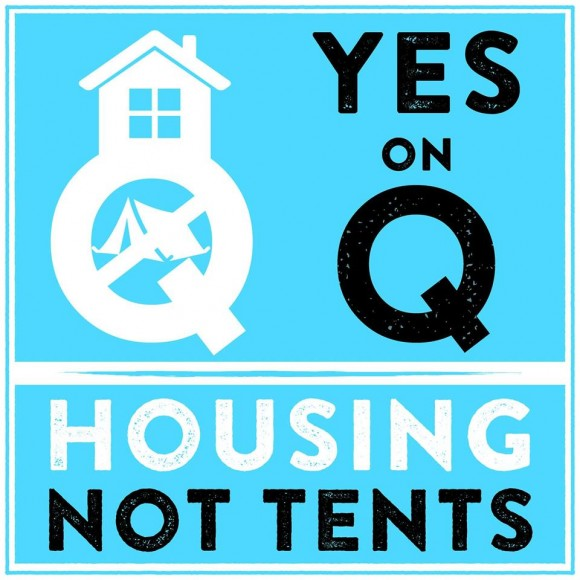 Prop Q appeals to many San Franciscans who have  seen tents spread to their neighborhoods in recent years. (From the Yes on Prop  Q - Housing Not Tents Facebook page)