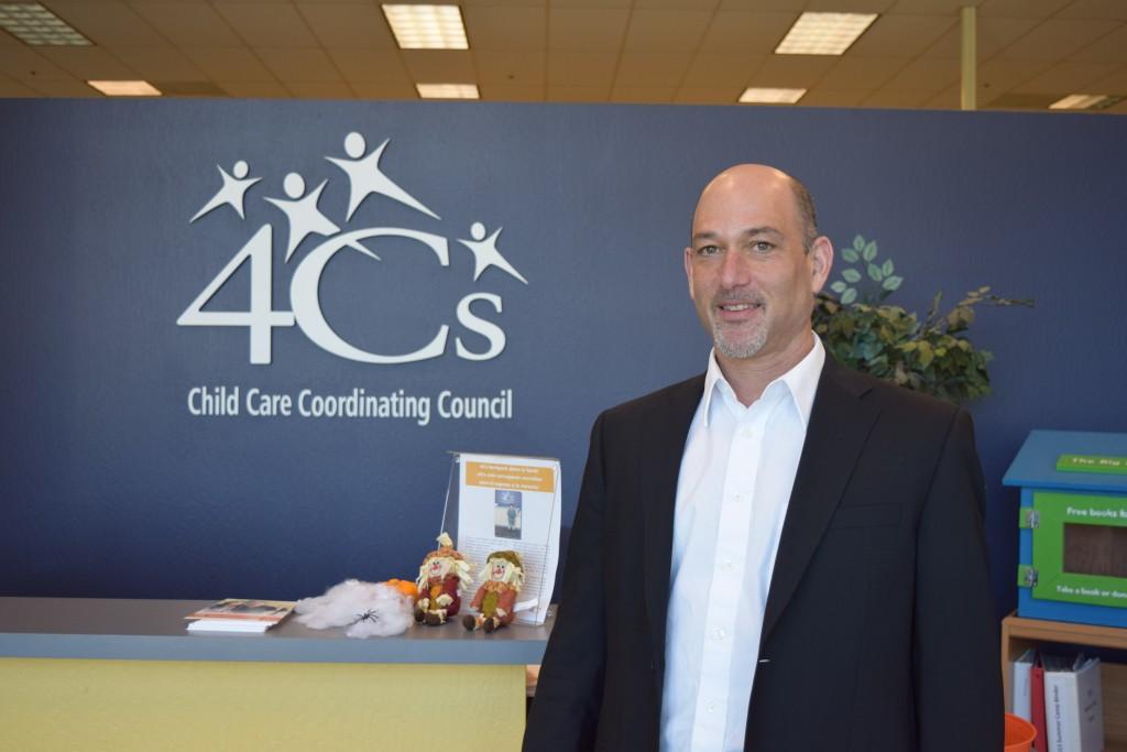 Executive Director of San Mateo County's Child Care Coordinating Council, David Fleishman. Nov. 1, 2016. (Erica Evans/Peninsula Press)