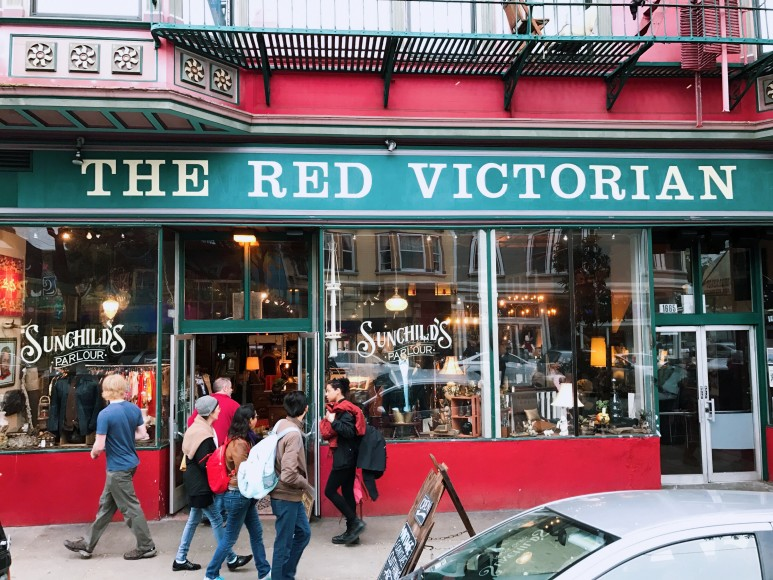 The Red Victorian: a Haight-Ashbury commune that supports creatives to connect and be in action around impactful projects. (Anna Yelizarova/Peninsula Press)