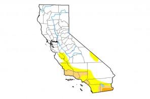 (Map courtesy of U.S. Drought Portal via Anthony Artusa, NOAA/NWS/NCEP/CPC)