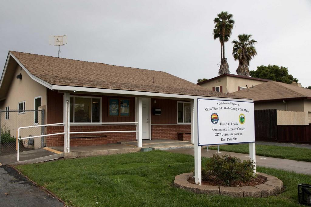 The David E. Lewis Community Reentry Center in East Palo Alto. (Photo courtesy of Preston Merchant/San Mateo County Health System)