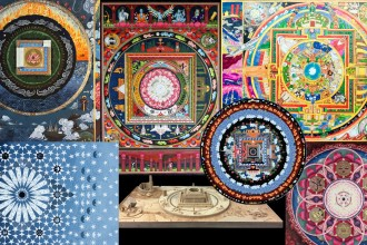 "A collection of contemporary mandalas called ""cosmographs"" by Eric Carson"