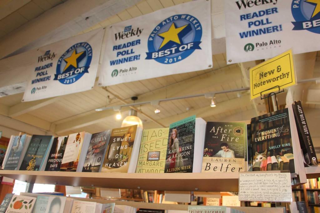 A display in the Palo Alto Books Inc. (Katiana Uyemura/Peninsula Press)