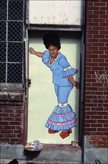 Carolyn Castaño's mural. (Photo courtesy of CAMP)