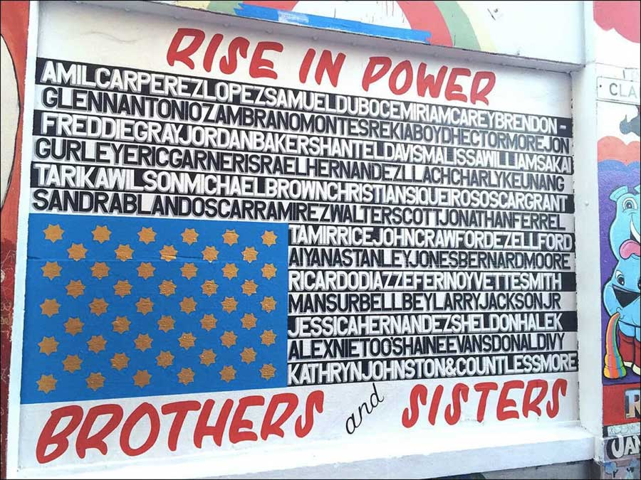 """""""Rise in Power,"""" by José Guerra Awe. (Photo courtesy of CAMP)"""