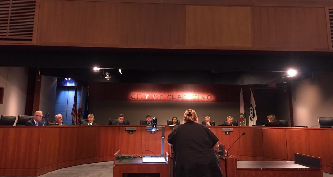 Cupertino's City Council passed an ordinance Oct. 3 requiring all new developments in the city to contribute funds for traffic mitigation. This money will go to improving busy intersections, building bike lanes and developing mass transit. (Isha Salian/Peninsula Press)