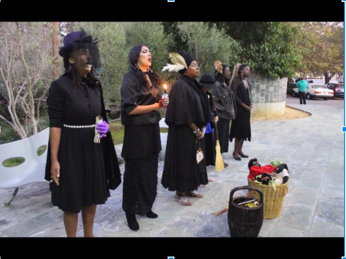 Team Ceremony outside of Marin Theatre Company (PC: Sarah Melek)