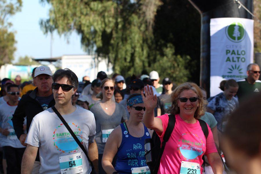 Palo Alto's Great Run for Saving Water participants 2018.