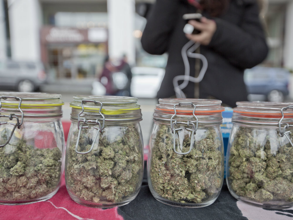 A picture of cannabis in jars. GoToVan/Flickr