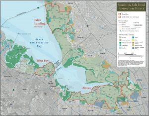 Sites of the South Bay Salt Ponds restoration project