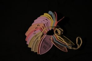 Jeff Christner found these fishing tags over a span of 10 years.