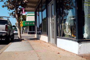 The corner of Wilton Avenue and El Camino Real in Palo Alto.
