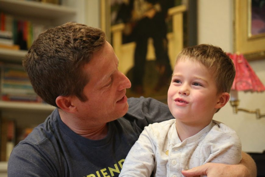 Though CBD is helping with some symptoms of SYNGAP1, like seizures and behavior, Mike Graglia is hoping that a gene therapy breakthrough could help his son, Tony. Isabella Jibilian/Peninsula Press