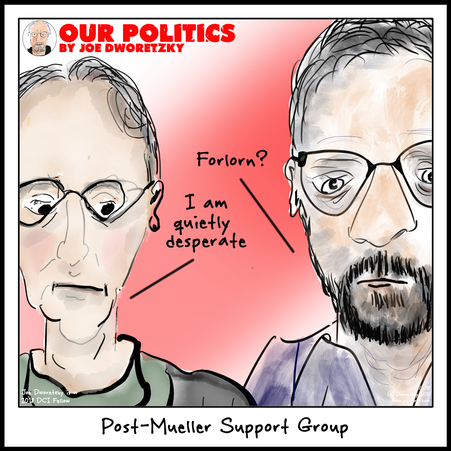 Post-Mueller Support Group