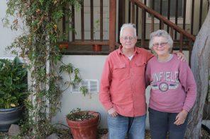 Tom Devine and Pat Halgren lead a neighborhood response team