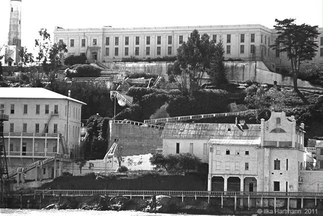 A photo of Alcatraz . (Courtsy of Ilka Hartmann).