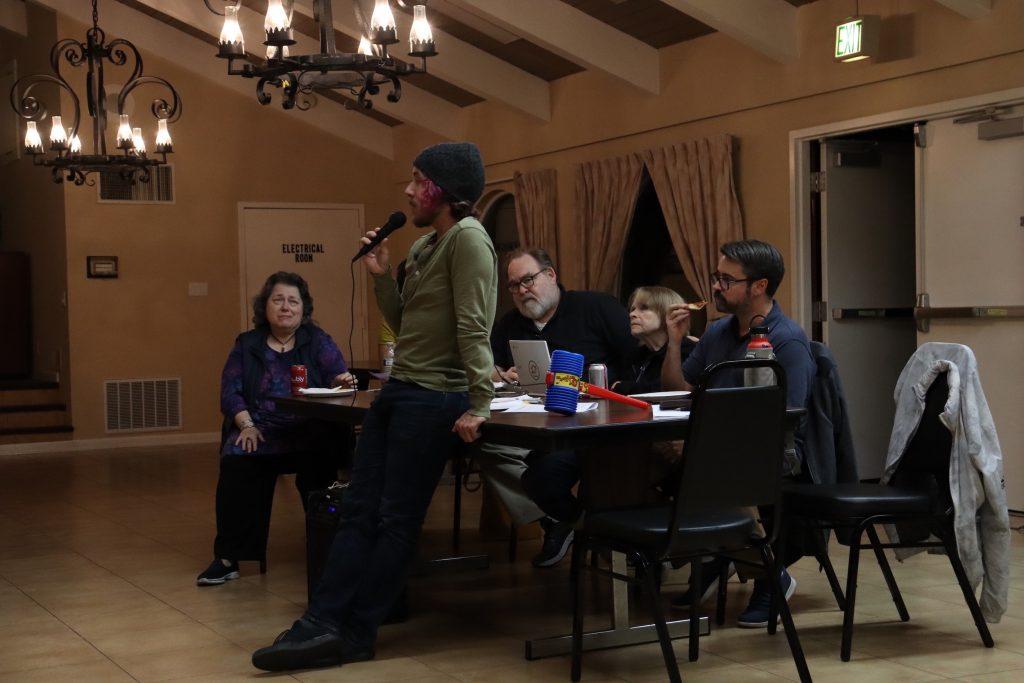 Santiago Villa Neighborhood Association meeting on Oct. 10, 2019.