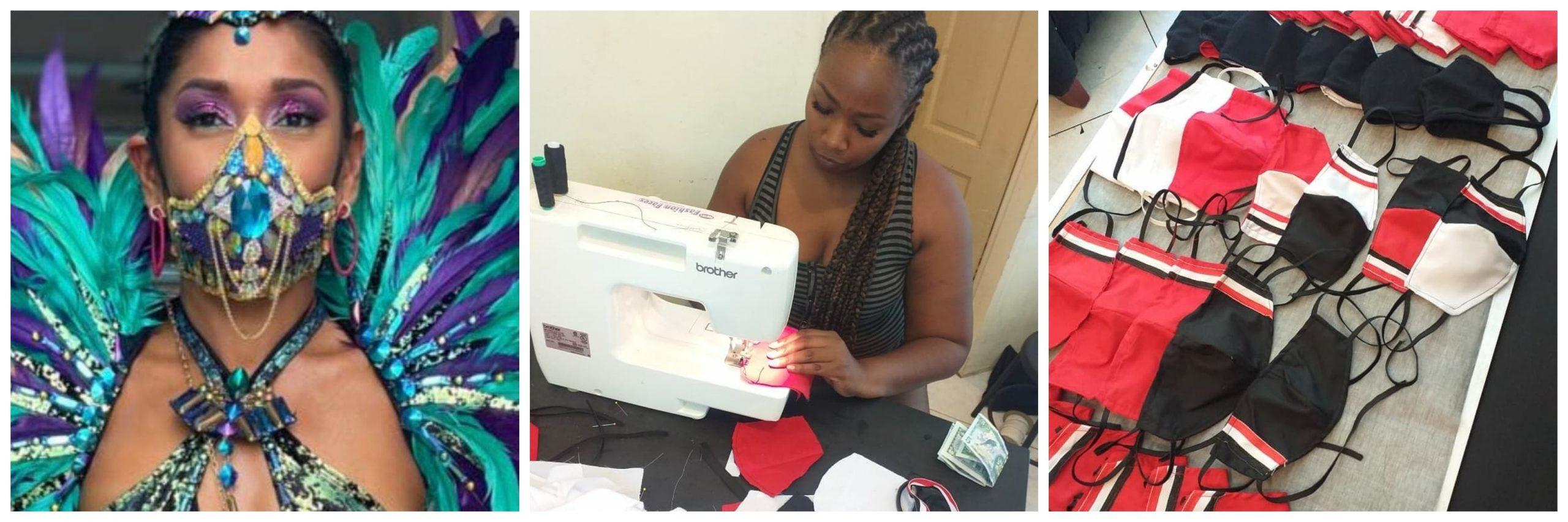 Trinidad and Tobago mask designer Jamila Harewood