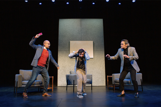 "Tensions rise in ""Art"" at SF Playhouse"