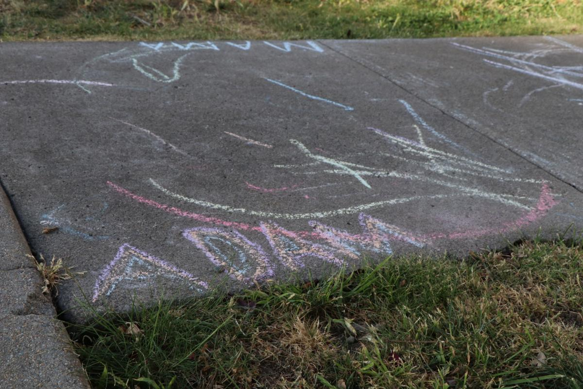 Chalk drawing 1